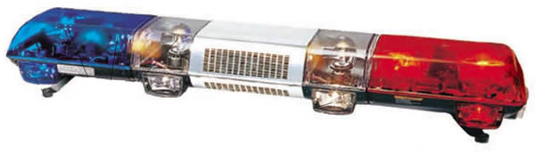 Fire truck halogen light barwarning light manufacturer the fire truck halogen light bar has a high quality polycarbonate lampshade an aluminum base and a stainless steel middle barrel aloadofball